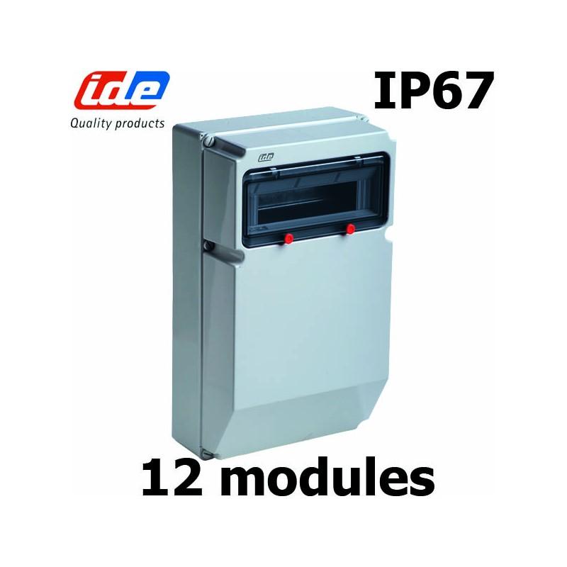 COFFRET IP67 12 MODULES IDE IP67