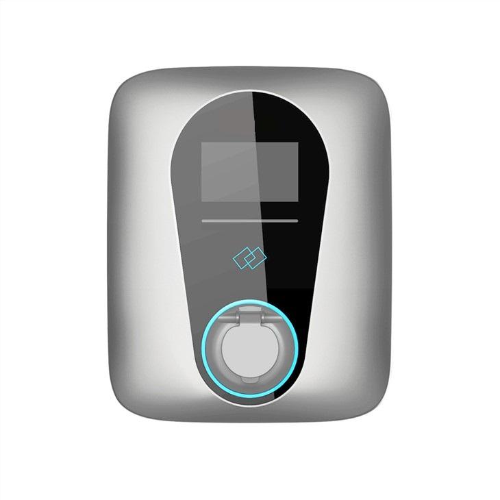 BOX monophasé 32A (7kW) RFID Réglable 8/13/16/20/24/32A Prise type2 verrouillable.